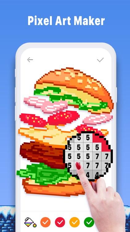 Pixel Art Book - Coloring Game screenshot-7