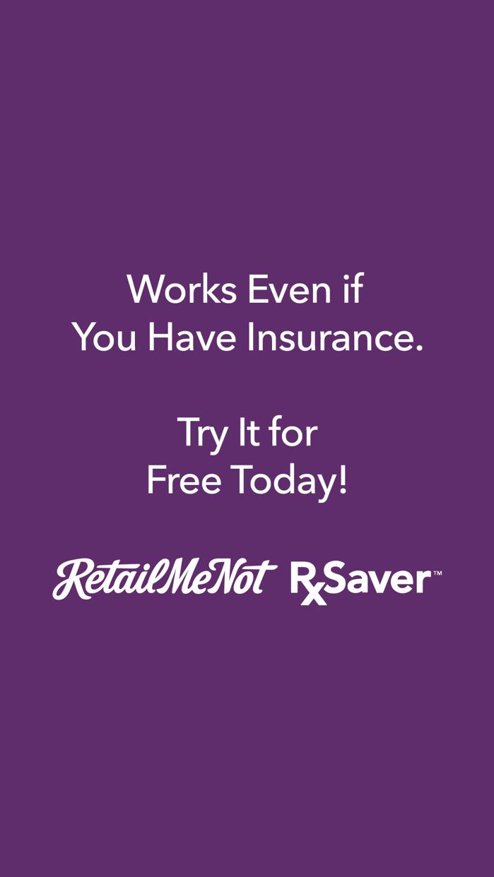 RetailMeNot Rx Saver Screenshot