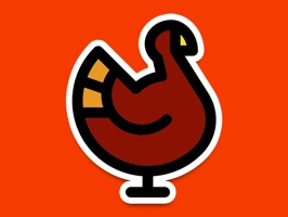 Colorful Thanksgiving Stickers