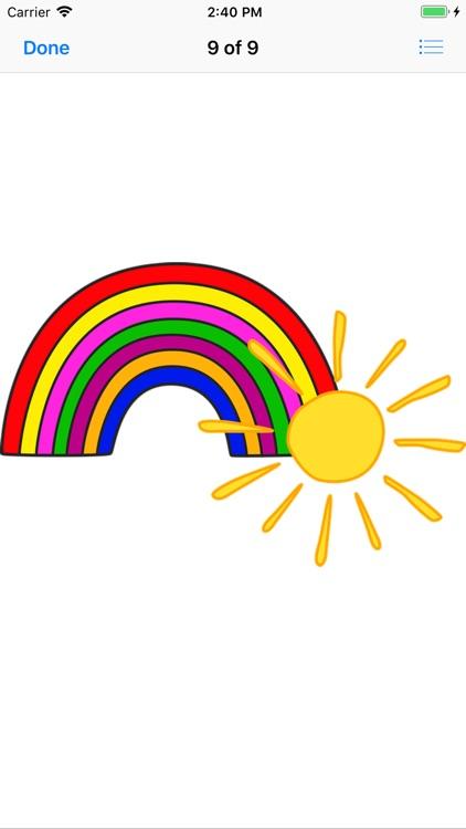 Sunny Sun Stickers screenshot-9