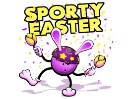 Easter Bowling Stickers
