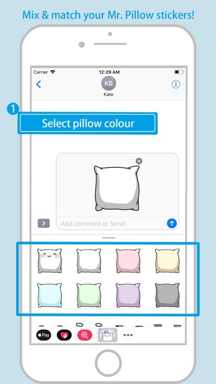 Mr. Pillow - Mix & Match screenshot-3
