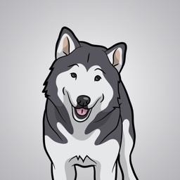 MalamuteMoji - Alaskan Malamute Emoji & Stickers