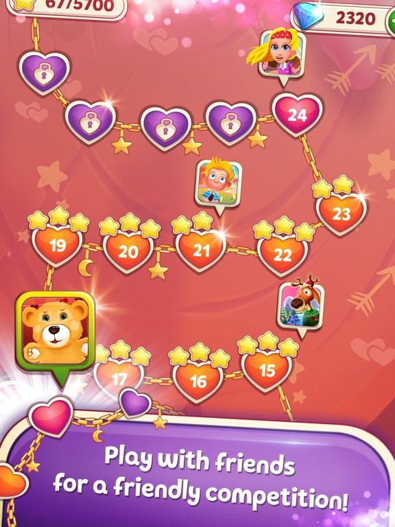 Sweet Hearts Match 3 screenshot 10
