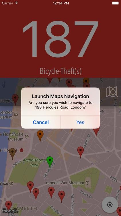 CycleSafer screenshot-4