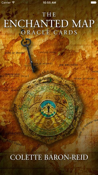Enchanted Map Oracle Cards screenshot 1