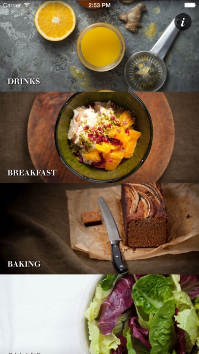 Screenshot for Healthy Chef Recipes in Lebanon App Store