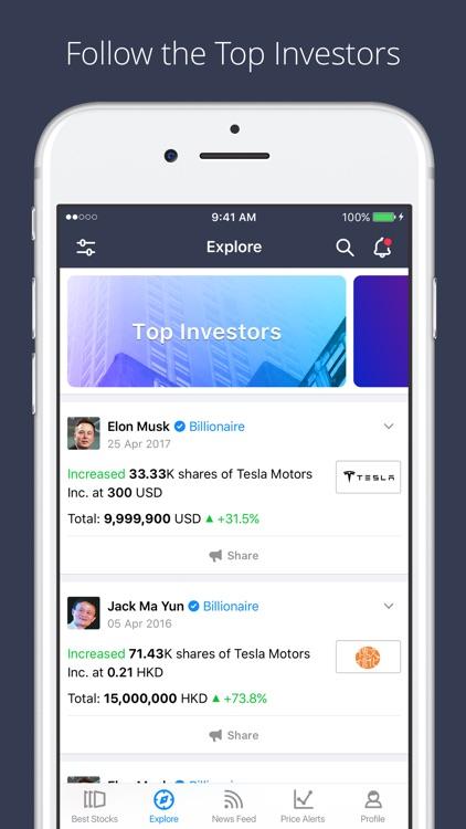 Spiking: Stock Trading on NASDAQ, Dow Jones, AMEX screenshot-0