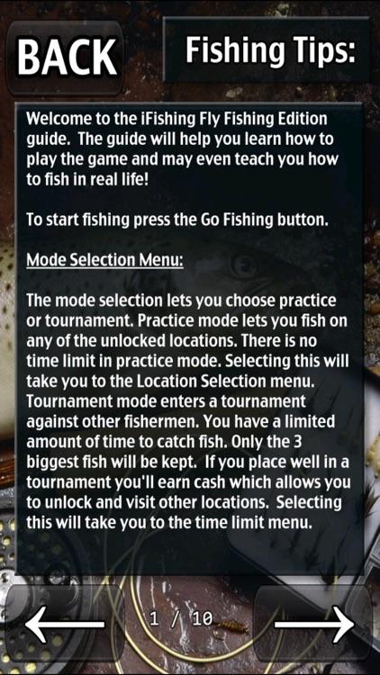 i Fishing Fly Fishing Lite screenshot-4