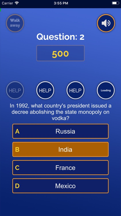 Millionaire Game Competition screenshot-3