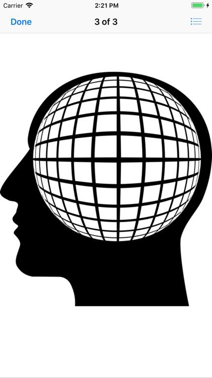 Cranial Abstract Art Stickers screenshot-5