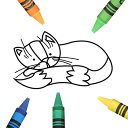 Coloring Book for kids (animals)