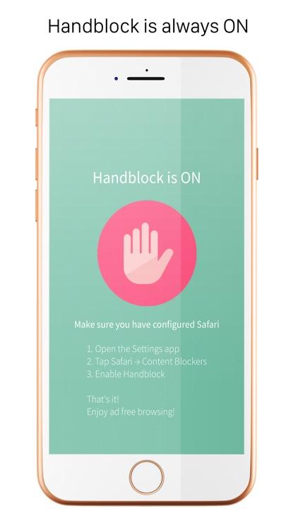 Handblock - Safari Adblocker screenshot-3