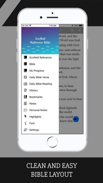 Scofield Reference Bible screenshot-9