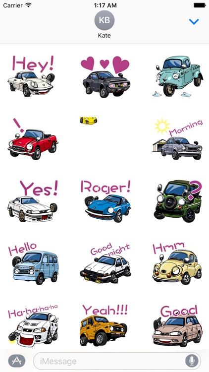 CarMoji Animated Car Sticker