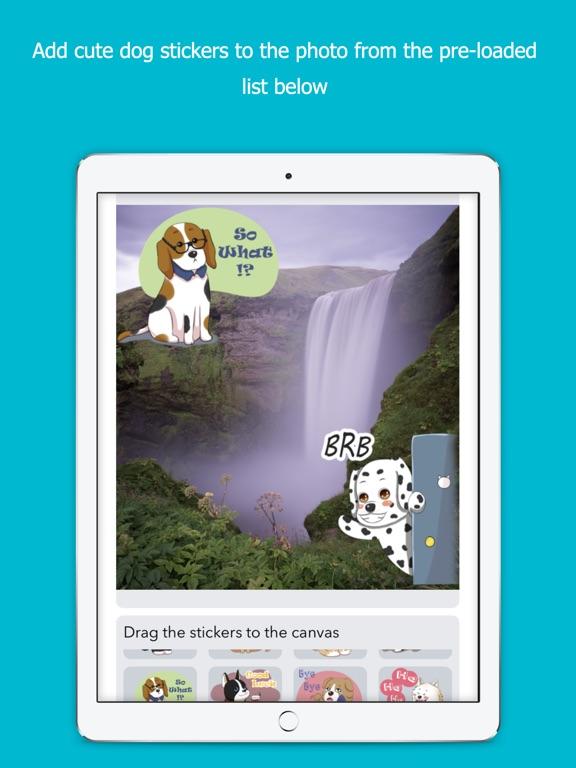 Dog Stickers Photo screenshot 7
