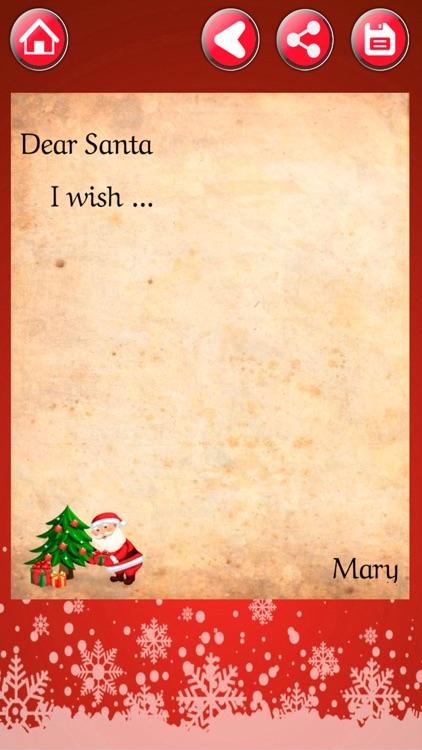 Write a letter Santa Claus screenshot-3