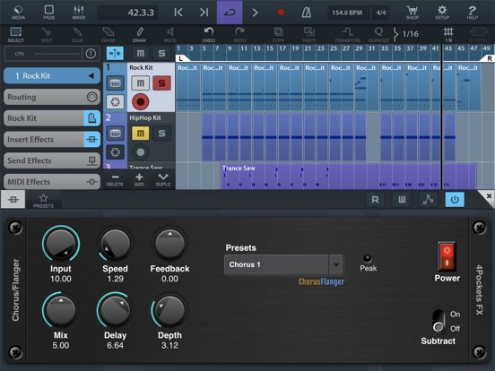 Flanger AUv3 Plugin screenshot 4