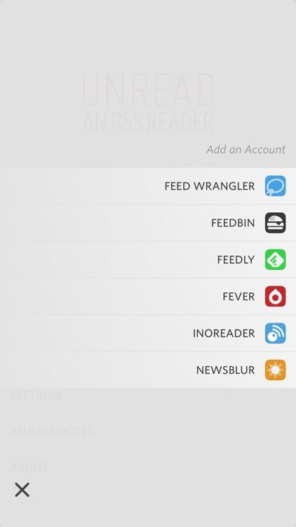 Unread: RSS Reader screenshot-5