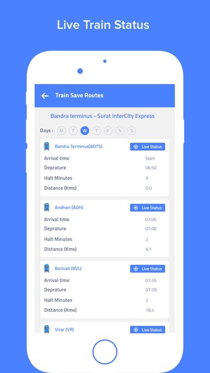 Indian Railways - Train status screenshot-4