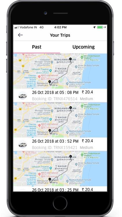 Jaldee Cab screenshot-3
