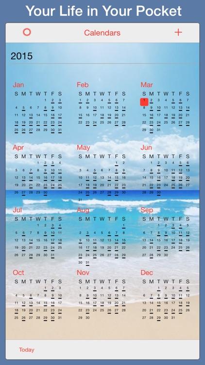 PocketLife Calendar screenshot-4