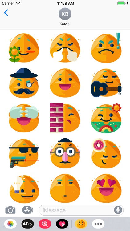 iSmiley Emoji Stickers