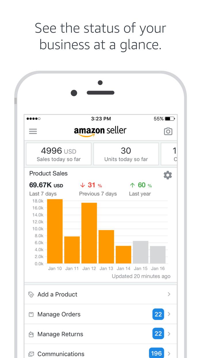Amazon Seller Screenshot