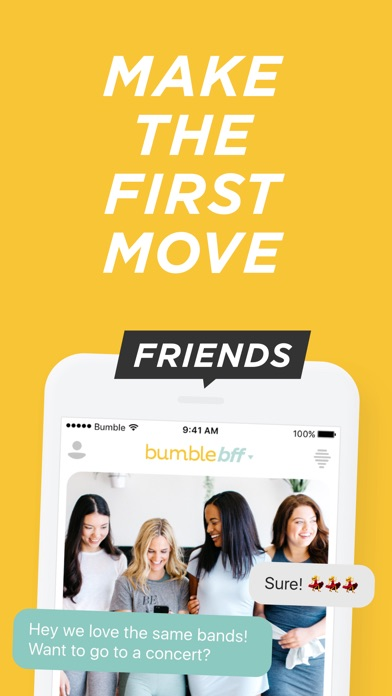 Bumble - Meet New People app image