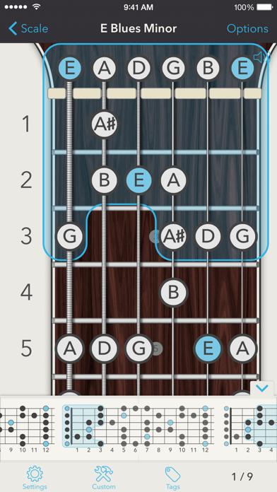 Chord review screenshots