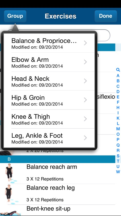 PhysPrac:Exercise Prescription screenshot-3