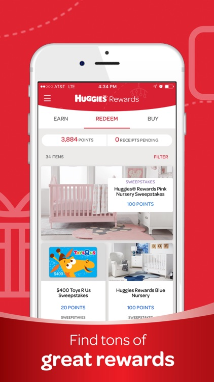 Huggies® Rewards App