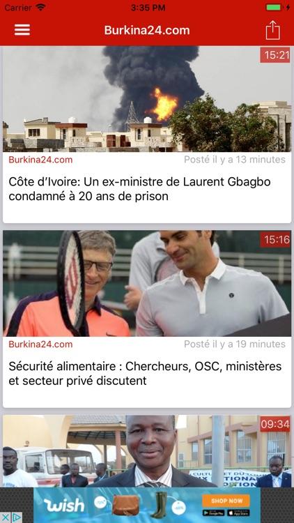 Burkina : Actu du Faso screenshot-3