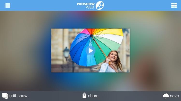 ProShow Web Slideshow Creator screenshot-4