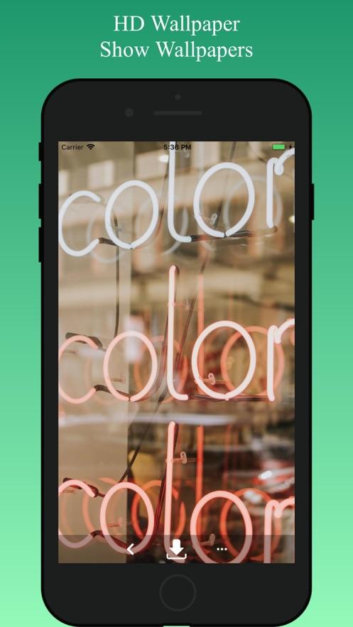 HD Wallpaper: Cool Backgrounds App 截图