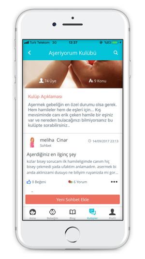 Hamilelik Rehberi App Storeda