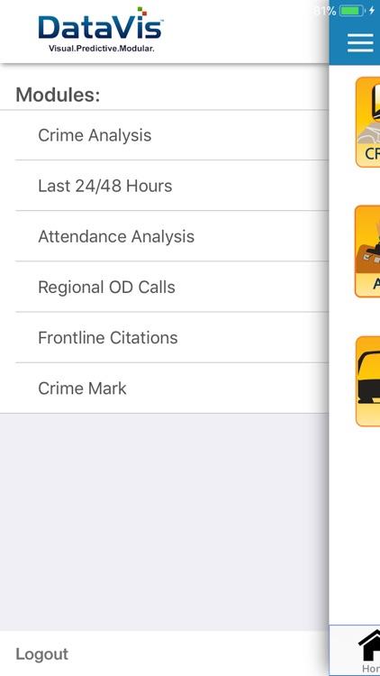 DataVis Mobile Application screenshot-3