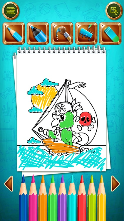 Coloring Book-Color your world screenshot-3