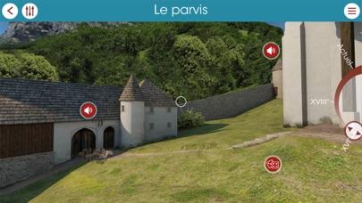 Abbaye d'Aulps 3D screenshot two