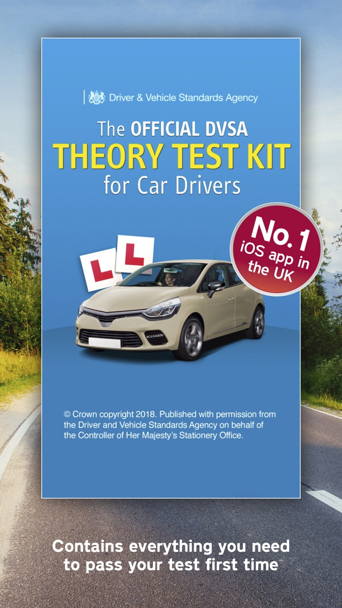 Official DVSA Theory Test Kit Screenshot