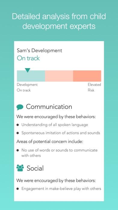 Cognoa for Child Development screenshot one
