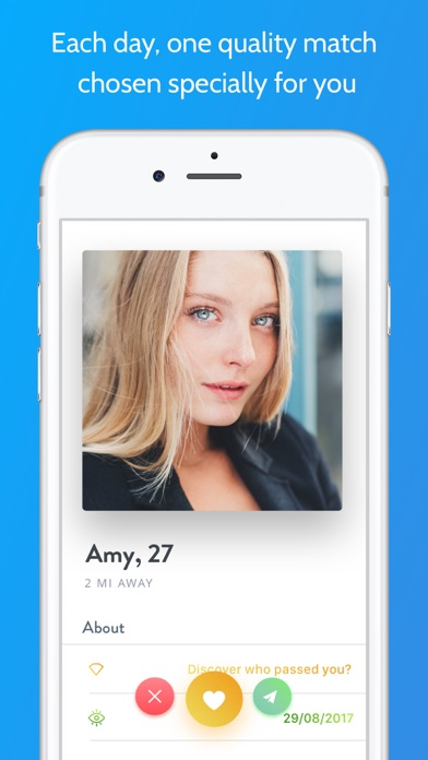 Once - Quality dating app image