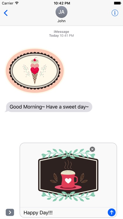 Lovely & Sweet Stickers Pack