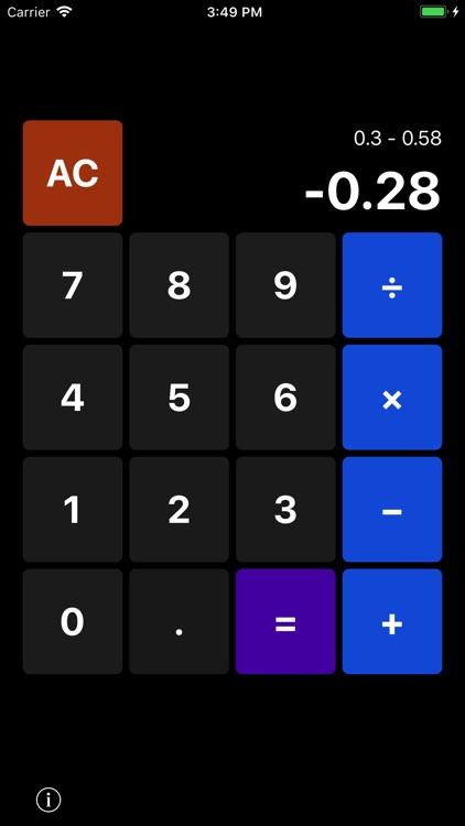 CalculatorWatch: Simple, Basic screenshot-3