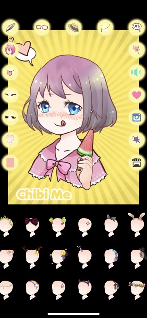 chibi me on the app store