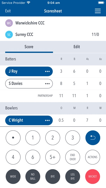 Play-Cricket Scorer