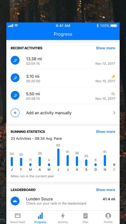 Runtastic Running Tracker PRO screenshot-3