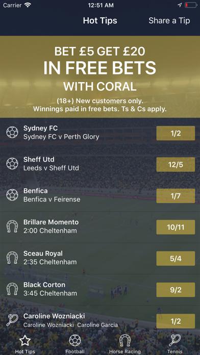 Betting Tips UK screenshot one