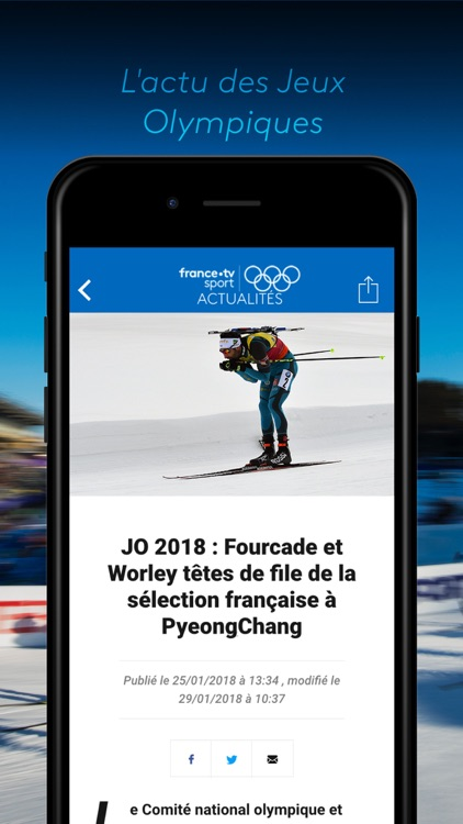 france•tv JO: PyeongChang 2018 screenshot-3