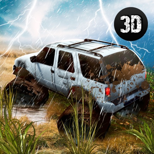 Tornado Disaster: Car Driving Icon